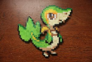 #495 Snivy by Puppylover5