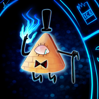 Bill Cipher by xXLegendary-FuryXx