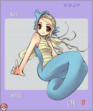 Image internet Pokemon_Gijinka___Horsea_by_minjii