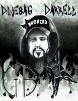 Tribute to Dimebag Darrell by deona