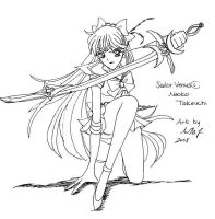 Sailor Venus by MissPhiMouse