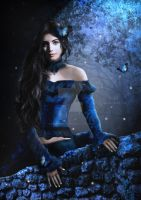 Blauw by babsartcreations