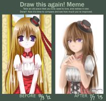 MEME: Draw this again! by Latte7