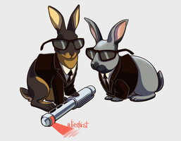 bunday - buns in black by alienfirst