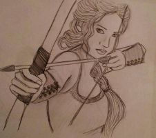Katniss by mademoisellemaripol