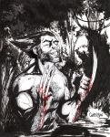 Wolverine commission by Arciah
