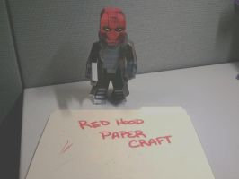Red Hood PaperCraft (Coming Soon) by statenjp