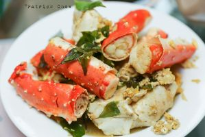 Snow crab legs by patchow