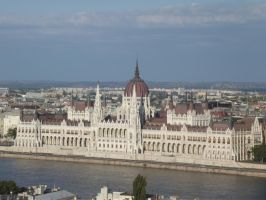 Buddapest: houses of parliament by jadedlioness