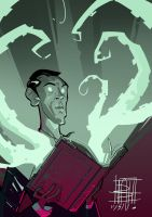 H P Lovecraft by BOTAGAINSTHUMANITY