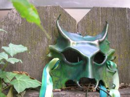 Green Man front detail by badpooka