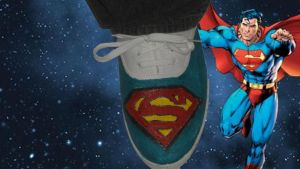 For Sale - Superman: Custom Logo Shoes by Rudolftheclown