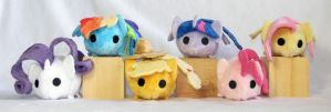 Tsum Tsum My Little Ponies by HollyIvyDesigns