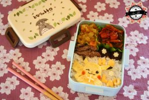 Birthday Pikachu Bento by RiYuPai