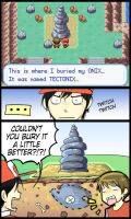 At the Onix Memorial by Limebro