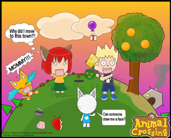 Animal Crossing funny by Tikalie-Wolf