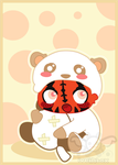 Darth Maul is a panda by iveinbox