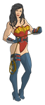 Wonder Woman by Georgel-McAwesome