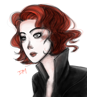 Black Widow by ILoveGrapeSoda