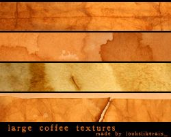 Coffee Textures - large by lookslikerain
