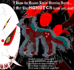 I met the MONSTER inside your head by ghosty-Cat