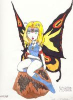Earth Goddess Mothra by KaiJuAlex