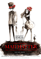 MADHATTER poster by j-b0x