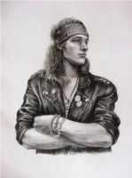 Glam metal guy by AnnikeAndrews
