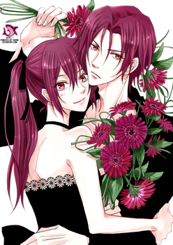 Rin and Gou Matsuoka Render #3 by Princess-of-Thorn