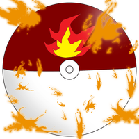 Fire Pokeball by water16dragon