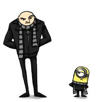 Despicable Me - Grus by jameson9101322