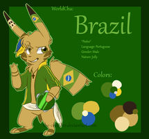 WorldChu - Brazil by The-Chibster