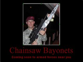 Chainsaw Bayonets by psbox362