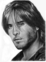 Jared Leto graphite by corienb