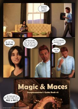 Magic and Maces Page 1 by The-Litch-Deviance