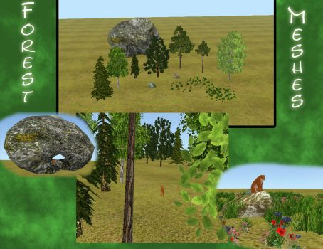 *UPDATE* FH - Forest meshes by wolf-NaKomis