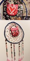 Candy Cat Dreamcatcher by mexicocitykitty