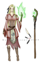 New Character: Fei'lya by MythicPhoenix