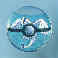 Poke Bubble Lugia by LinziTaylor