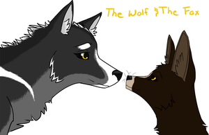 The Wolf and the Fox by Free-Fall-Angel