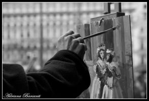 Painting Venice Carnival by Resetblue