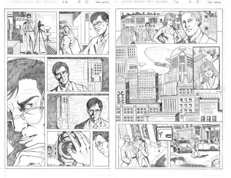 Pencil pages samples 1 by ivancortezvega