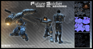 ::future soldier:: by sangheili117