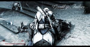Goodbye, Father. Connor and Haytham by AliceCroft
