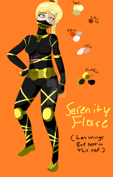 Art ref for serenity by UnityFlare