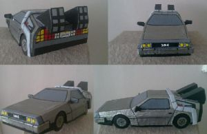 Back to The Future Delorean by WillziakDS