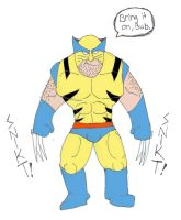 Classic Wolverine by jakester2008