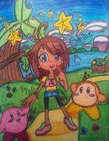 In the World of Kirby :DD by BebeKimichi