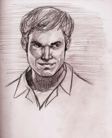 Dexter Michael c Hall by Lorredelious