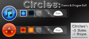 Circles 1: iTunes and Dragon Ball by jsouzaprimo